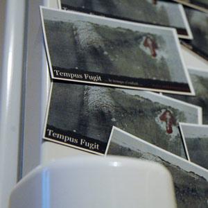 Magnet du livre de photographies et nouvelles Tempus Fugit de makuramis